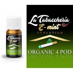 Estratto di Tabacco - Organic 4Pod - E-Mint - 10ml